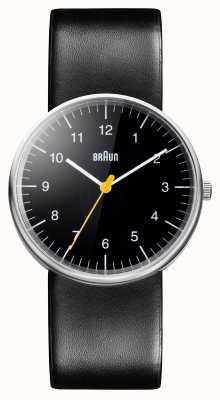 Braun Heren allemaal zwart quartz horloge BN0021BKBKG