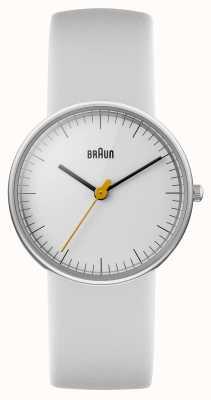 Braun Dames wit horloge BN0021WHWHL