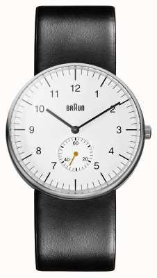Braun Heren wit zwart horloge BN0024WHBKG