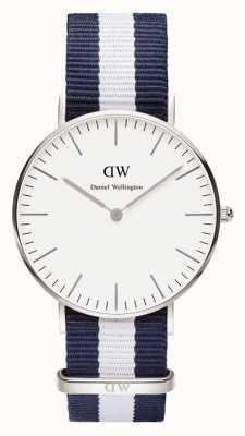 Daniel Wellington Gents blauw canvas quartz analoog horloge DW00100047