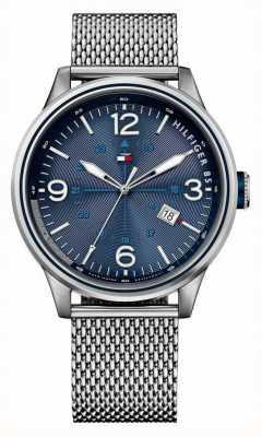 Tommy Hilfiger Mens peter horloge met mesh bracelet 1791106