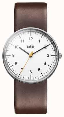 Braun Heren wit bruin horloge BN0021WHBRG