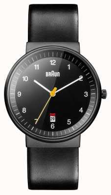 Braun Heren allemaal zwart horloge BN0032BKBKG