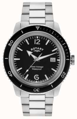 Rotary Ocean avenger roestvrij staal mannen GB02694/04