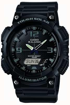 Casio Mens vijf alarm op zonne-energie illuminator zwart AQ-S810W-1A2VEF