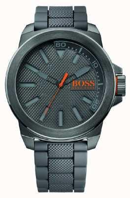 Hugo Boss Orange New york grijze siliconen 1513005
