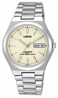 Lorus Stalen armband horloge RXN31BX9