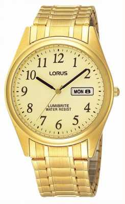 Lorus Vergulde uitbreiden armband RXN98AX9