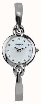 Michel Herbelin Ladies roestvrij stalen behuizing, parelmoer 17001/B59