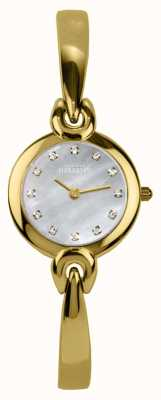 Michel Herbelin Parelmoer wijzerplaat, goudkleurige armband 17001/BP59