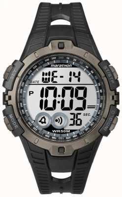 Timex Mens indiglo marathon alarm chronograaf T5K802