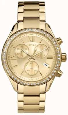 Timex Vrouwen Miami Pvd Plated Chronograph TW2P66900