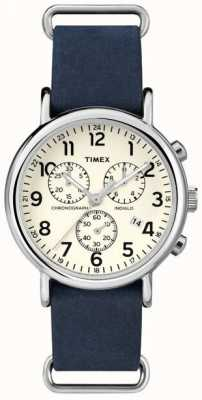 Timex Heren weekender chronograaf oversized TW2P62100