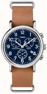 Timex Gents weekender chronograaf oversized TW2P62300