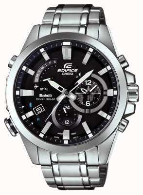 Casio Edifice bluetooth sync zware smartwatch dag / datum EQB-510D-1AER