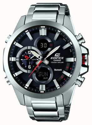 Casio Edifice bluetooth 4.0 zonne-chronograaf ECB-500D-1AER