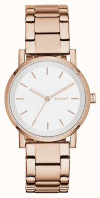 DKNY Ladies soho pvd rose goud NY2344