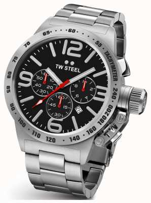 TW Steel Gents kantine chrono 45mm roestvrij staal CB7