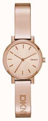 DKNY Ladies soho rose gouden armband NY2308