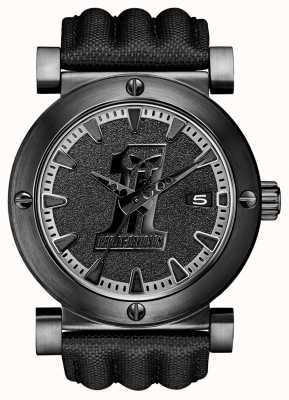 Harley Davidson Herenhorloge met ion-plated zwart label 78B131
