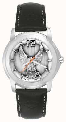 Harley Davidson Black Eagle horloge 76A12