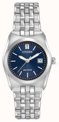 Citizen Womens eco rijden corso WR100 donker blauwe wijzerplaat EW2290-54L