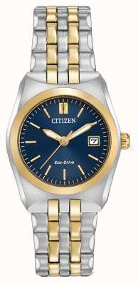 Citizen Ladies eco-rijden corso WR100 two tone EW2294-53L