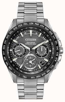 Citizen Mens F900 gps satelliet golf chrono CC9015-71E
