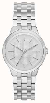 DKNY Dames park helling roestvrij staal NY2381
