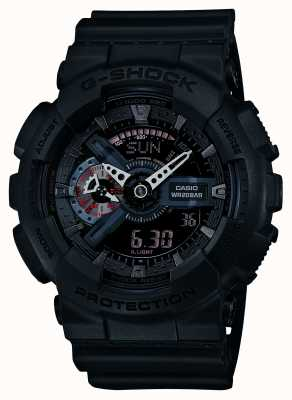 Casio Limited edition G-SHOCK mens rode accenten GA-110MB-1AER
