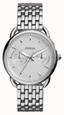Fossil Dames maat roestvrij staal ES3712