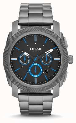 Fossil Gents machine gun metal grey FS4931