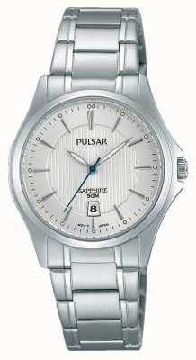 Pulsar Dames roestvrij staal zilveren wijzerplaat PH7423X1