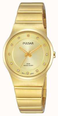 Pulsar Dames goud pvd verguld PH8170X1