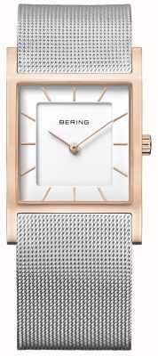 Bering Vrouwen roestvrijstalen gaas armband 10426-066-S