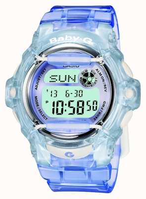 Casio Baby-G lila / blauw dames digitaal horloge BG-169R-6ER