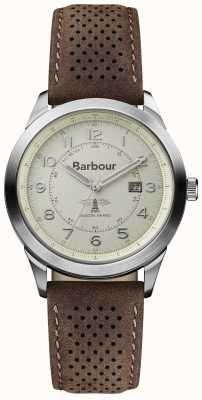 Barbour Mens rollator bruin lederen band BB017CPBR