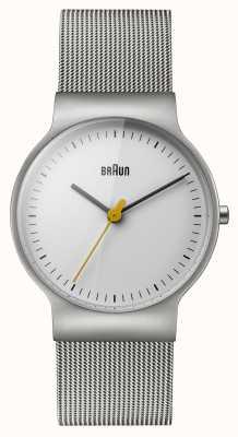 Braun Klassieke armband van mesh voor dames BN0211WHSLMHL
