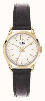 Henry London Westminster bruin lederen band champagne HL25-S-0002