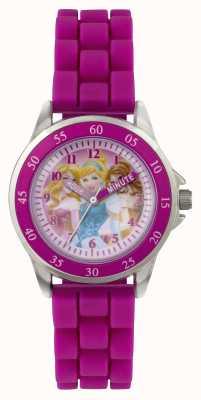 Disney Princess Drie prinsessen kinderen paars horloge PN1078