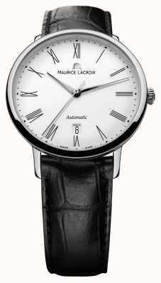 Maurice Lacroix Mens les classiques automatische datum zwart LC6067-SS001-110-1