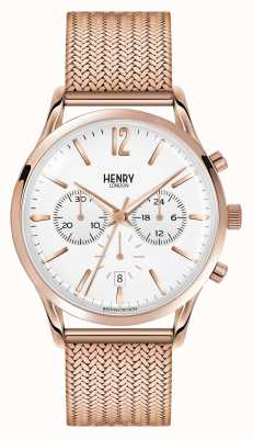 Henry London Unisex Richmond rose goud pvd verguld HL39-CM-0034