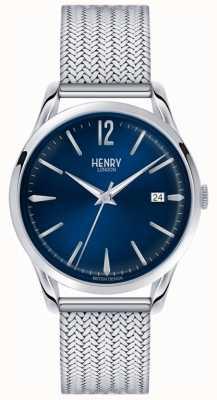 Henry London Unisex knightsbridge roestvrij staal HL39-M-0029
