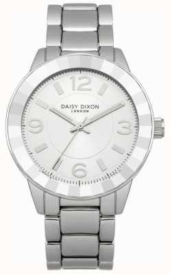 Daisy Dixon Vrouwen roestvrij stalen armband zilveren wijzerplaat DD014SM