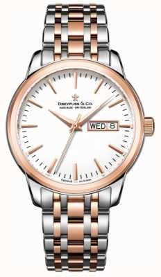 Dreyfuss Mens utilitaire horloge 1890 DGB00127/02
