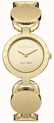 Fiorelli Vrouwen gouden armband gouden wijzerplaat FO001GM