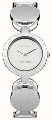 Fiorelli Vrouwen zilveren armband zilveren wijzerplaat FO001SM