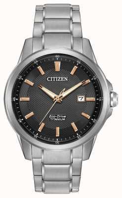 Citizen Gents eco-rijden titanium WR100 AW1490-50E