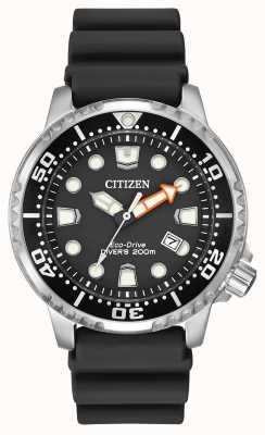 Citizen Eco-Drive Promaster duiker zwarte rubberen band BN0150-28E