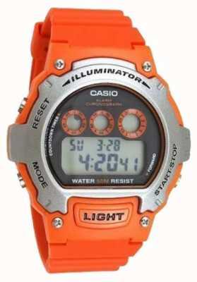 Casio Sport alarm unisex verlichting chronograaf W-214H-4AVEF